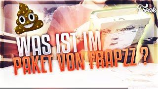 WAS IST IM PAKET VON FRAPZZ ? | WAS HAT ER MIR GESCHICKT ?!