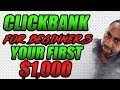 Clickbank For Beginners - How To Make Your First $1000 Step By Step