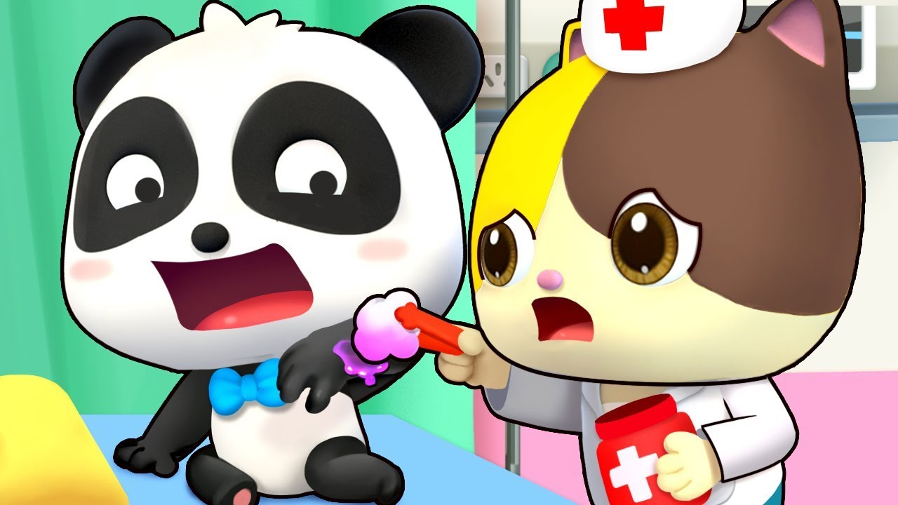Baby Panda is afraid of Doctor | Kids Cartoon | Baby Cartoon | Doctor Cartoon | Baby Video | BabyBus
