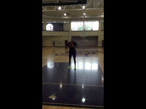High Point WBB - Post Workouts (Form shoot)