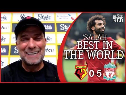 'MO SALAH BEST IN THE WORLD' | Jurgen Klopp Press Conference | Watford 0-5 Liverpool