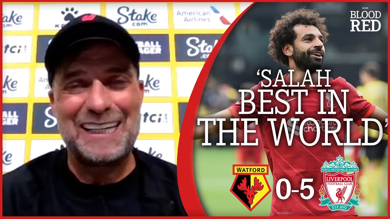 Download 'MO SALAH BEST IN THE WORLD' | Jurgen Klopp Press Conference | Watford 0-5 Liverpool
