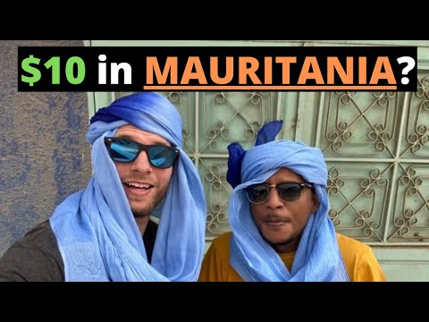 $10 in MAURITANIA? (SO CHEAP!)