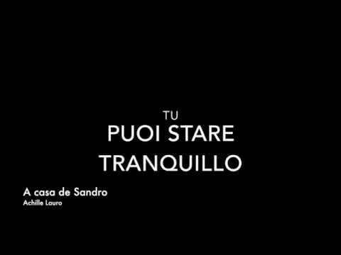 Achille Lauro - A casa de Sandro (Prod. Boss Doms) #DrinDrinDrin - Testo / Lyrics