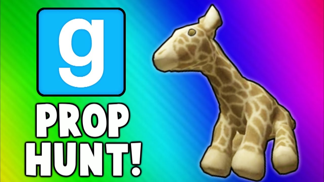 Gmod Prop Hunt Funny Moments 8 - Talking Giraffe, He's a