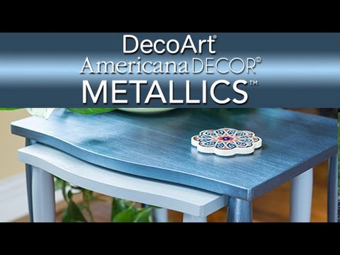 Learn About Americana Decor Metallics