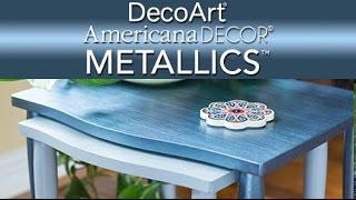 Learn About Americana Decor Metallics