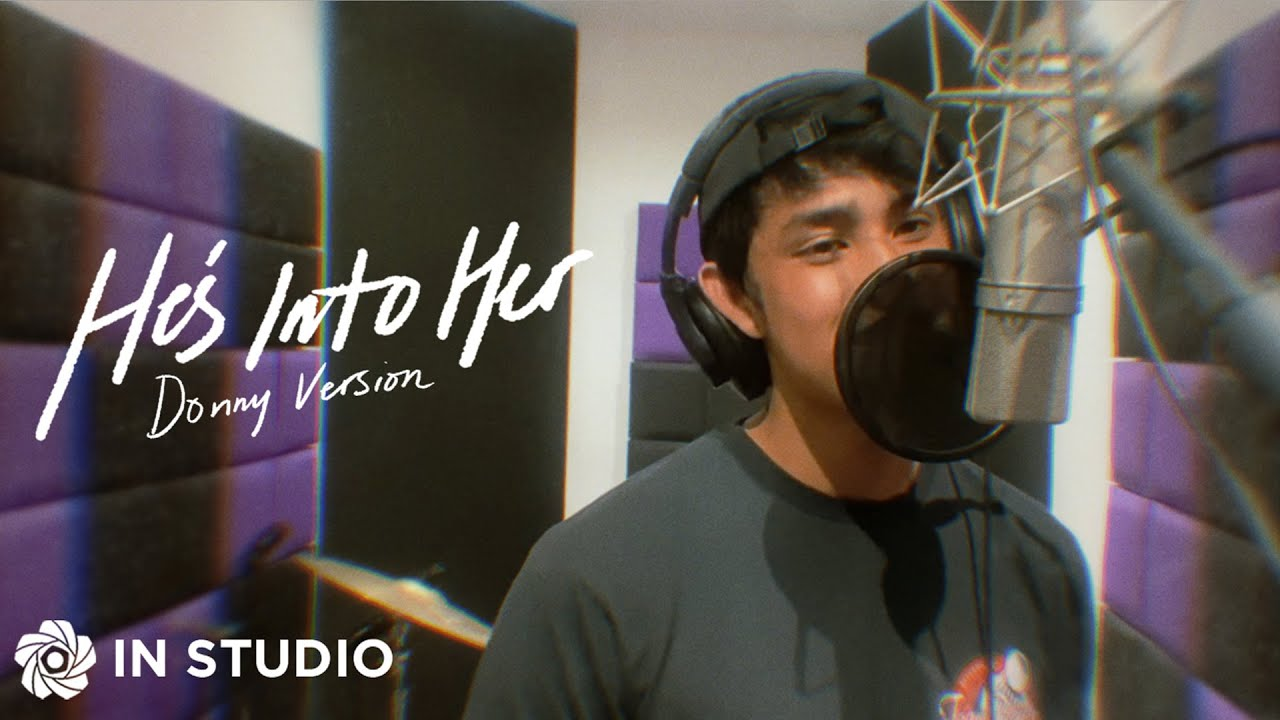Download He's Into Her (Donny Version) - Donny Pangilinan | In Studio