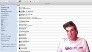 macOS Sierra: Ordner oben behalten bei Sortierung