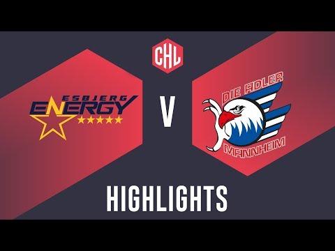Highlights: Esbjerg Energy vs. Adler Mannheim
