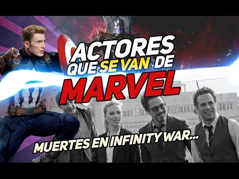 ACTORES QUE SE VAN DE MARVEL 6 personajes que podrían morir en Avengers Infinity War