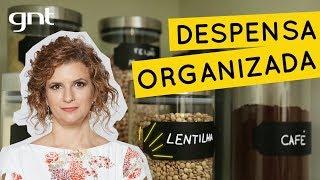 Como organizar a despensa da cozinha | Dica de Organização | Micaela Góes