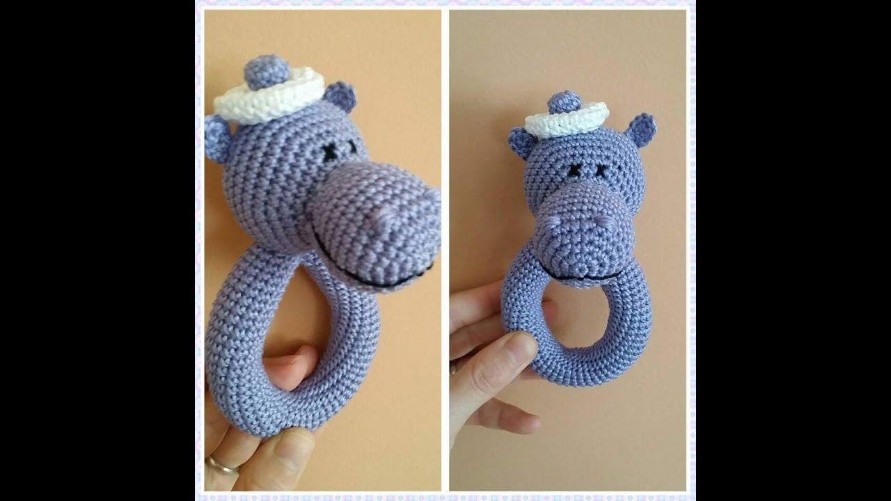 Amigurumi Hippo- Su aygırı Yapılışı | Amigurumi oyuncak bebek ... | 720x1280