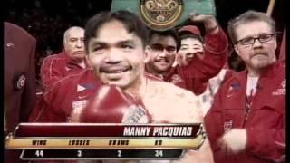 Manny Pacquiao vs. Marco Antonio Barrera II - Will to win Part (1/4)