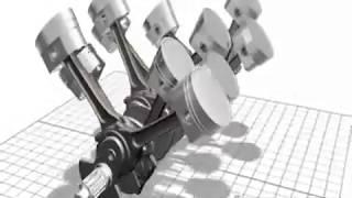 Animação Motor W16 / W16 Engine Animation