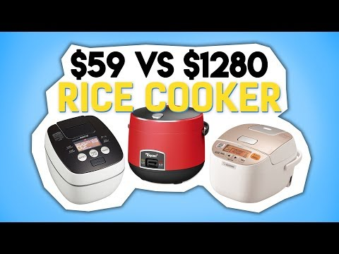 $59 Vs $1280 Rice Cooker - We Review Which To Get