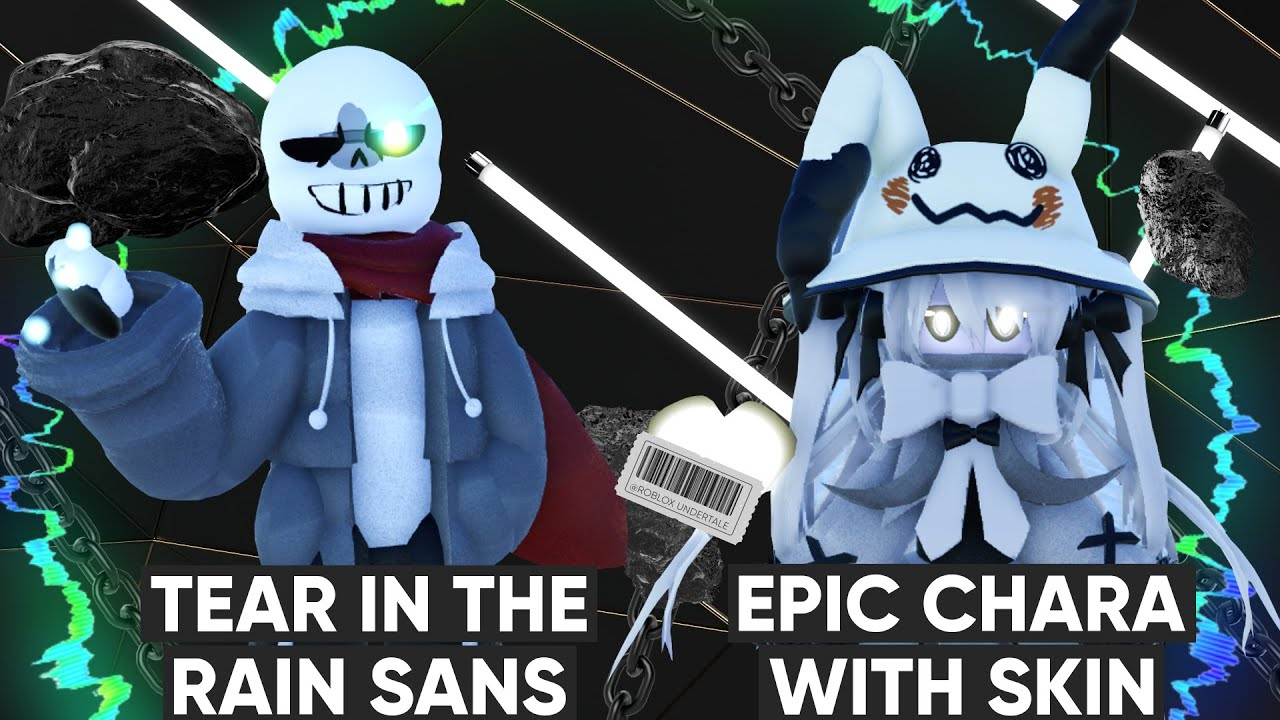 Roblox | Undertale Crazy Multiverse Timeline | Tear in The Rain Sans | Epic Chara with Skin