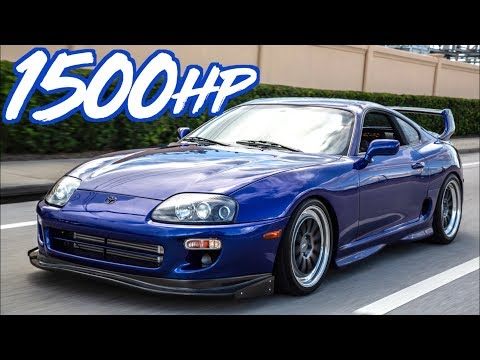 1500HP Supra Gettin' Rowdy - 2JZ Eargasm!
