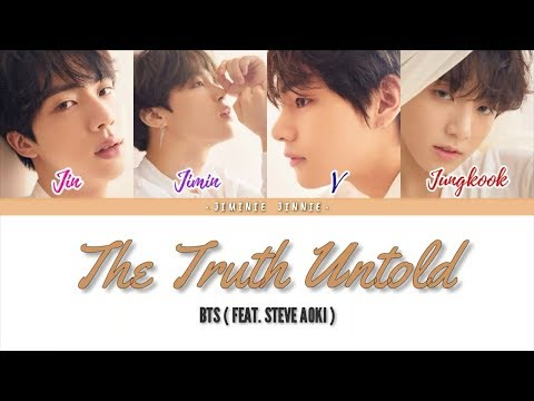 BTS (방탄소년단) - The Truth Untold (feat. Steve Aoki) | Color Coded Lyrics [Han|Rom|Eng Lyrics]