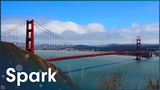 How Are Suspension Bridges Made?   How Did They Build That?   Spark