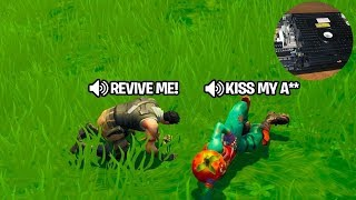 MY DUOS PARTNER MADE ME SMASH MY PS4 AFTER THIS... FUNNIEST FORTNITE DUO EVER! REVENGE!