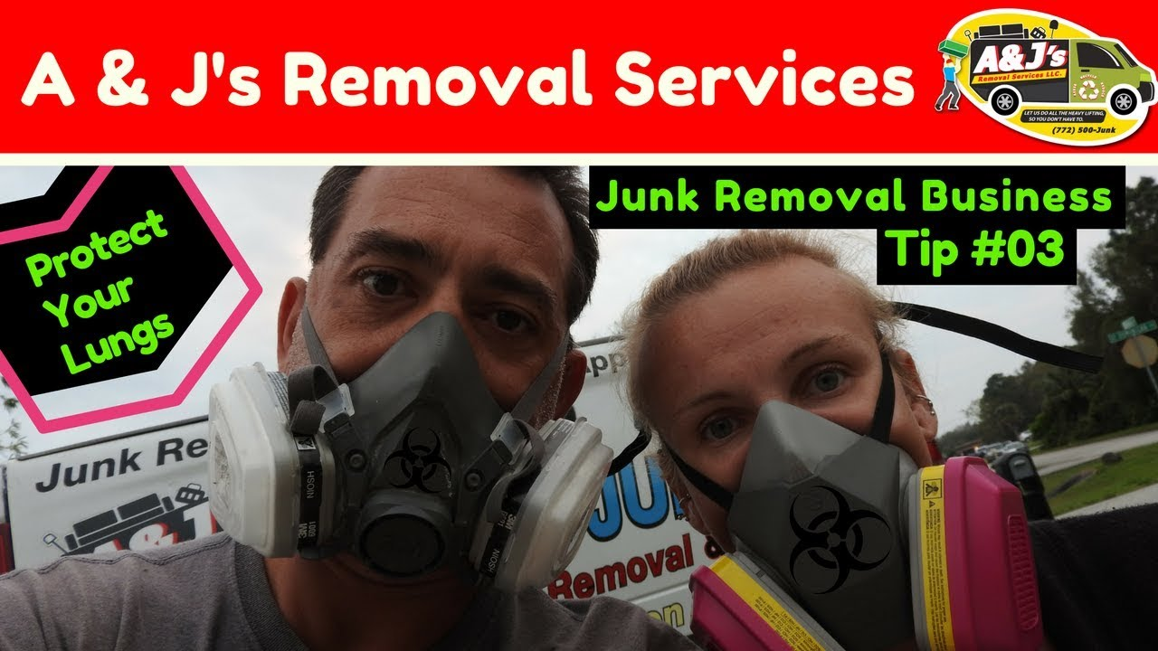 Junk Removal Business Tip 03 Mold Respirator