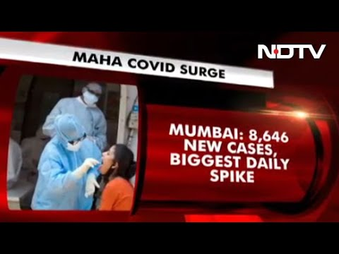 COVID-19 News: Mumbai Records Highest Single-Day Spike With 8,646 Cases