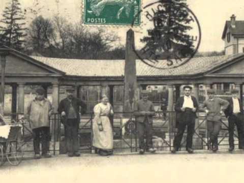 cartes postales anciennes :Hericourt 70400 centre ville en 1900 - YouTube