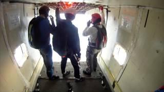 Door Falls Off Airplane In Flight! -- DANGEROUS SKYDIVING...