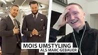 Justin reagiert auf Mois Umystyling mit Marc Gebauer..   Reaktion