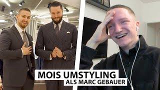 Justin reagiert auf Mois Umystyling mit Marc Gebauer.. | Reaktion