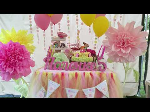 видео: Ростовые цветы для праздника. Мастер Класс