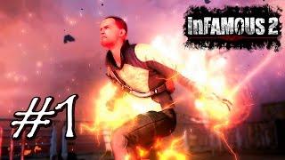 Прохождение InFamous 2 [рус] PS3 эпизод #1