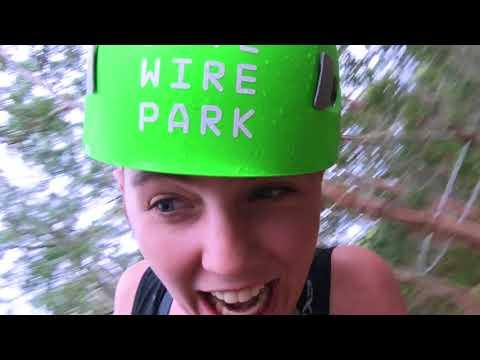 Live Wire Park Shockwave Zip Coaster