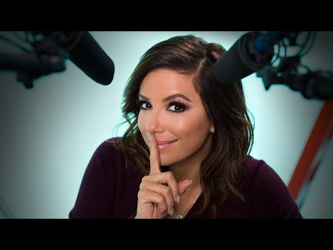 Actress Eva Longoria Explores ASMR to Help You Sleep  Celebrity ASMR  W Magazine