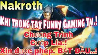 Lm tc Funny chi LY vc Nakroth dng Ngc Full Tc  nh v Build  Full Gip troll team ch