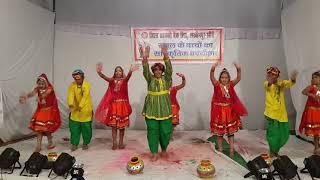 Rajisthani folk dance class vi students