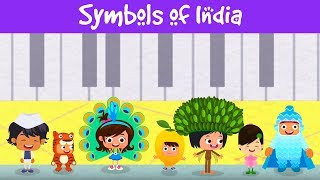 Symbols Of India | Learning Video For Kids | Childrens Day Special | Jalebi Street Full Episode