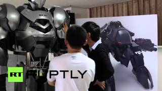 China: Move over Iron Man, this human-piloted mecha-bot is the real deal!