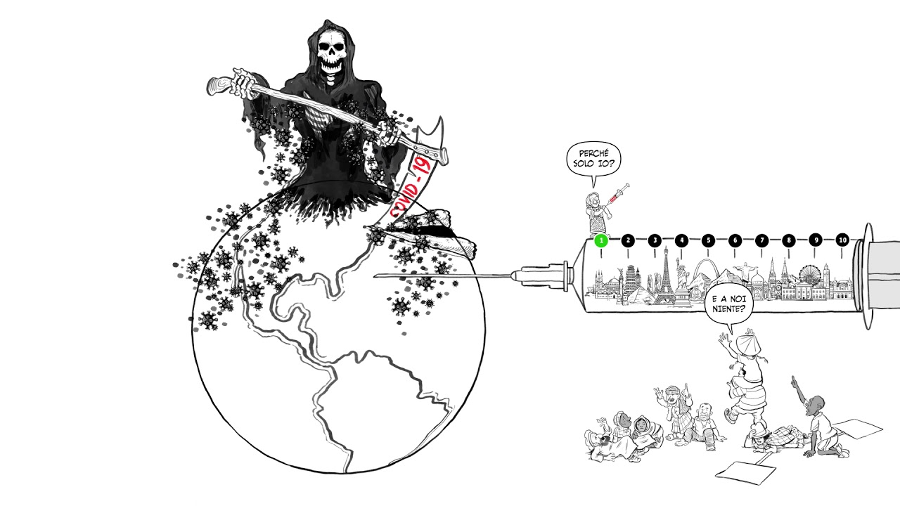 Covid-19: serve un vaccino per tutti, in ogni angolo del mondo #PeoplesVaccine
