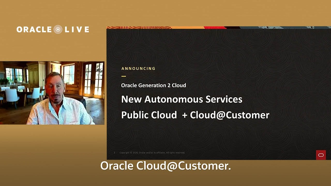 Highlights with Subtitles -- Oracle Live: New Autonomous Services