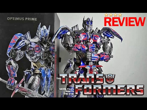ComiCave Transformers Omni Class Optimus Prime Diecast Figure Review