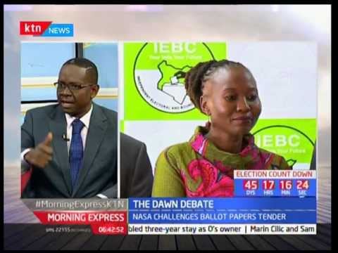 The Dawn Debate : NASA  to head to court to halt the ballot printing paper process