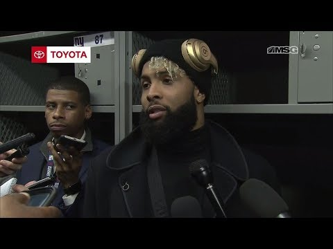 Was Odell Beckham Limited With An Injury In Giants Loss To Eagles? | New York Giants Post Game
