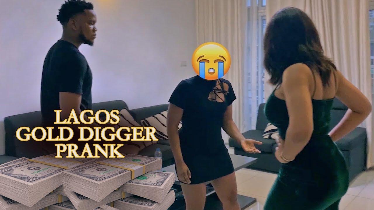 LAGOS GOLD DIGGER PRANK