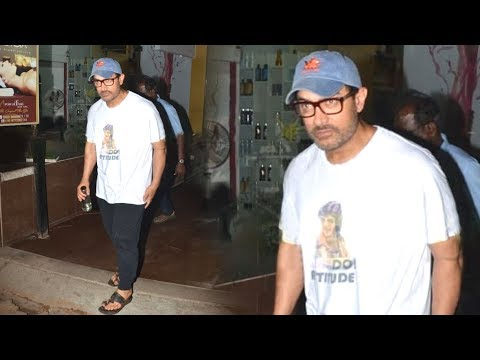 MR PERFECTIONIST Aamir Khan Spotted At Spa In Bandra