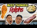 THE 20 BEST FOODS AT RALPH'S DELI....HOW GOOD WAS IT? // Fung Bros