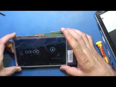 Подбор аналога дисплея на планшет Megafon Login 2 и Login 3.