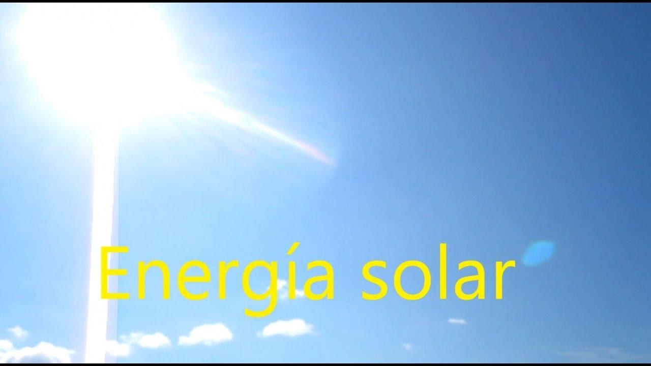Energ a solar experimentos caseros youtube for Luz solar para exterior