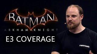 видео Batman: Arkham City - Интервью | Новинки игр | новинки mmorpg | игры 2015 - boysgame.ru
